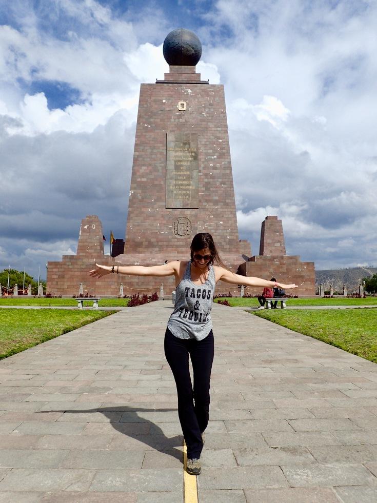 La Mitad del mundo, Équateur